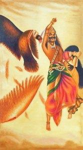 Jataya Vadh Raja Ravi Varma