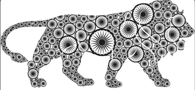 White tigers and Gir lions. Republic Day thoughts: are wild animals citizens?
