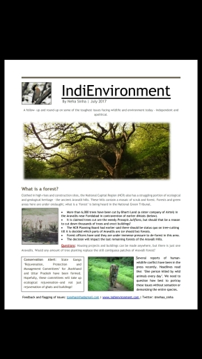 IndiEnvironment: July 2017 Issue